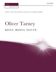 Oliver Tarney Missa Media Nocte