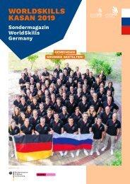 WorldSkills Germany Sondermagazin zu den WorldSkills Kasan 2019