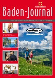 BadenJournal August - Oktober 2019
