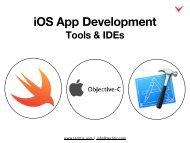 iOS App Development Tools & IDEs