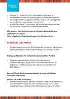 Bedienungsanleitung kitchenette - Seite 6