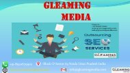 No.1 Company For Seo Outsourcing Projects- Gleaming Media