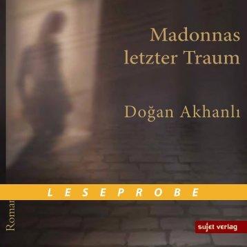 Leseprobe Madonnas letzter Traum
