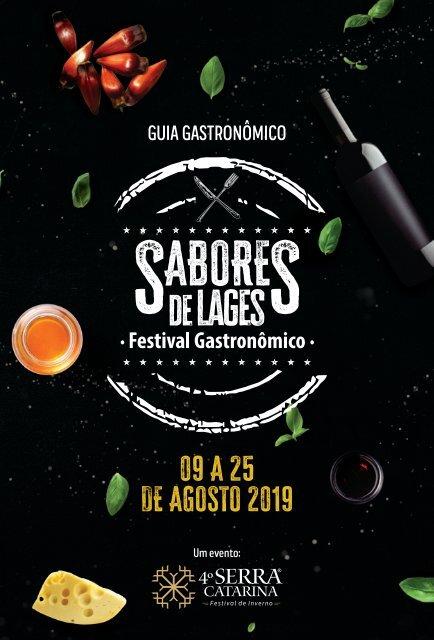 GUIA GASTRONÔMICO SABORES DE LAGES