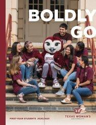 TWU First-Year Viewbook 2020-2021