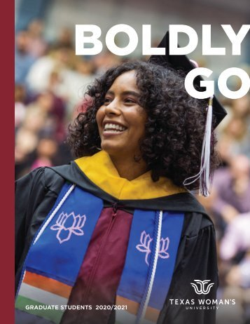 TWU Graduate Viewbook 2020-2021