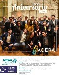 Newsletter ACERA - Julio 2019