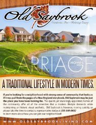 Old Saybrook Carriage Home Brochure