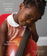 Johnson String Instrument / Carriage House Violins 2019-2020 Catalog