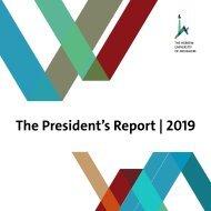 HU President's Report 2019