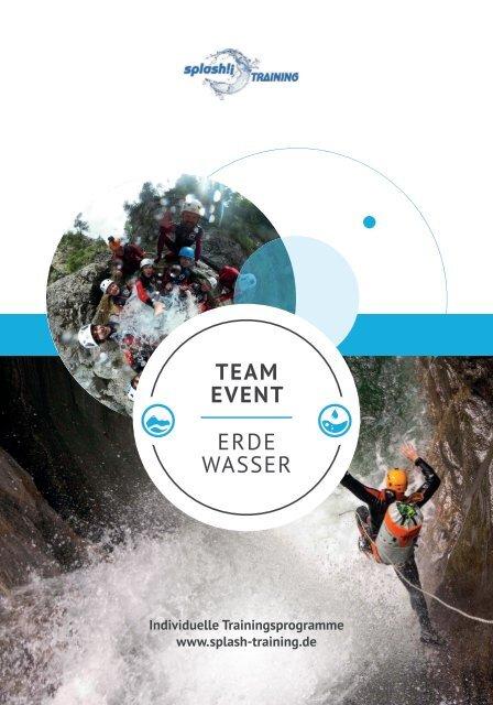 splash!¡ - Teamevent Erde-Wasser
