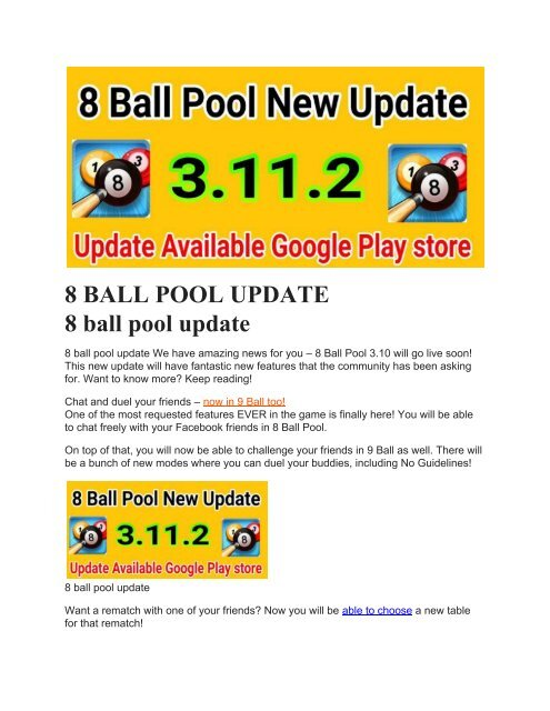 8 ball pool 3.10 1 hack apk