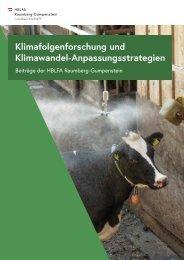 Klimafolgenforschung und Klimawandel-Anpassungsstrategien