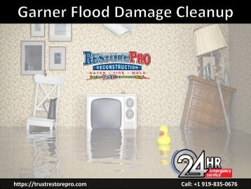 Garner Flood Damage Cleanup