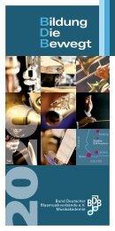 BDB-Musikakademie Highlights 2020