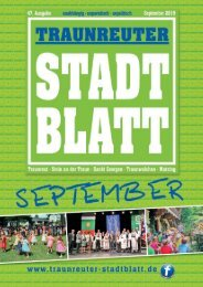 Traunreuter Stadtblatt September 2019