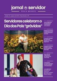 Jornal do Servidor - Praia Grande | Ed. 15 | Agosto 2019