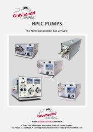 HPLC PUMPS 2019