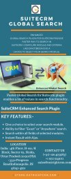 SuiteCRM Faster Global Search | Outright Store