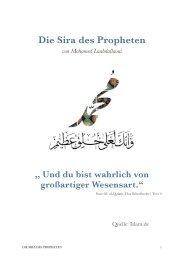 Die Sira des Propheten von Mohamed Laabdallaoui- die Orginaldatei