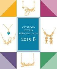 CATÁLOGO JOYERÍA PERSONALIZADA 2019 con precios