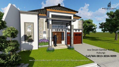 ELEGAN   CALL/WA 0813-3034-9099   Arsitek Rumah Minimalis Modern