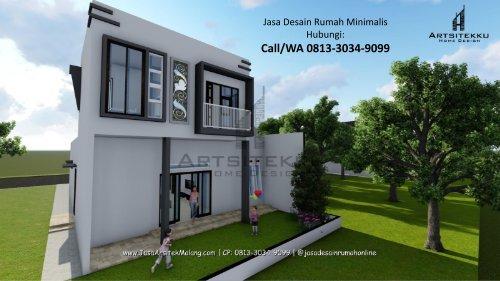 ELEGAN | CALL/WA 0813-3034-9099 | Arsitek Rumah Minimalis Modern