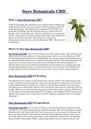 Don't Waste Time! 9 Facts Until You Reach Your Sure Botanicals Cbd