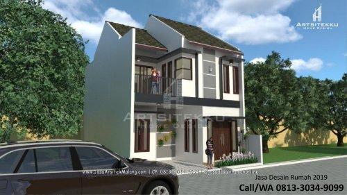 ELEGAN | CALL/WA 0813-3034-9099 | Contoh Rumah Minimalis