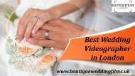 Tips for Choosing a Wedding Videographer