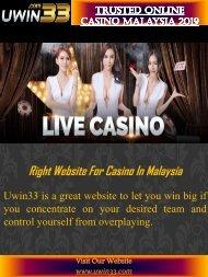 Trusted Online Casino Malaysia 2019