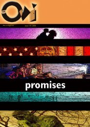 Issue #14: Promises Published: 01-05-2006