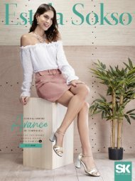 Estela Sokso - Primavera Verano 19