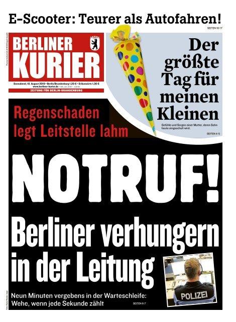 Berliner Kurier 10.08.2019