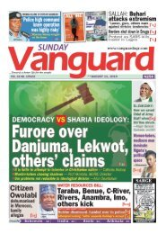 11082019 - Democracy vs Sharia Ideology : Furore  over Danjuma , Lekwot, others cliam