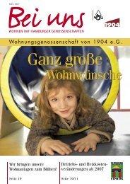 Wohnwünsche Wohnwünsche - Wohnungsgenossenschaft von ...