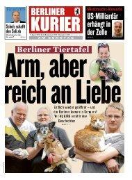 Berliner Kurier 11.08.2019