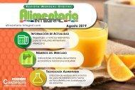 ALIMENTARIA INTEGRAL AGOSTO 2019