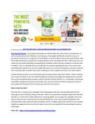 Keto Top Diet Reviews : Burn Fat To Get Higher Energy Level