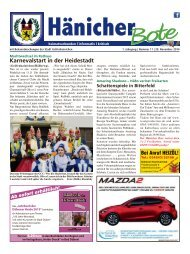 Hänicher Bote | November-Ausgabe 2014