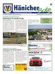 Hänicher Bote | Oktober-Ausgabe 2014