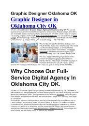 Aku Graphic Designer Oklahoma City OK   405-446-8883
