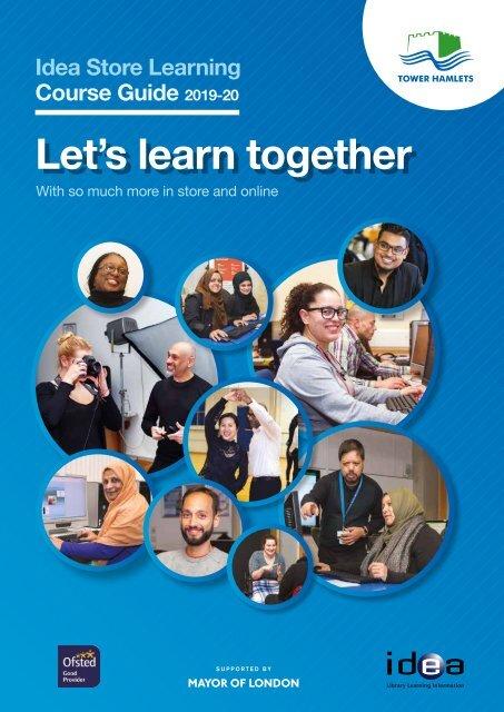 Idea Store Learning Prospectus 2019/20
