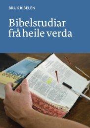 Bruk Bibelen: Bibelstudier (nn)