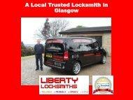 A Trusted Local Locksmith In Glasgow