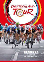 Roadbook - Deutschland Tour 2019