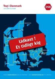 UDKAST - et tidligt kig | Tog i Danmark | K20 fra 15.12.2019 til 12.12.2020 | DSB