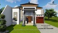 PROFESIONAL | CALL/WA 0813-3034-9099 | Rumah Minimalis 1 Lantai