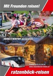 Tagesfahrten Herbst/Winter 19/20