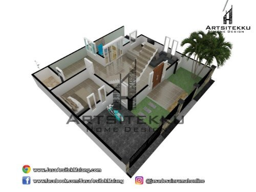 EXCLUSIVE | CALL/WA 0813-3034-9099 | Model Rumah Minimalis 2019